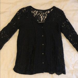 Lucky Brand Lace Blouse